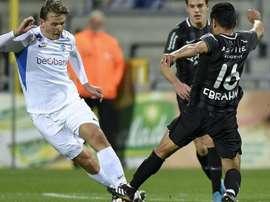 La Fiorentina s'intéresse à Sander Berge. AFP