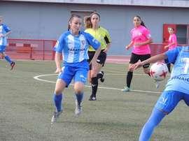 Sandra marcó el único gol del encuentro para darle el liderato a las de Contreras. Málaga