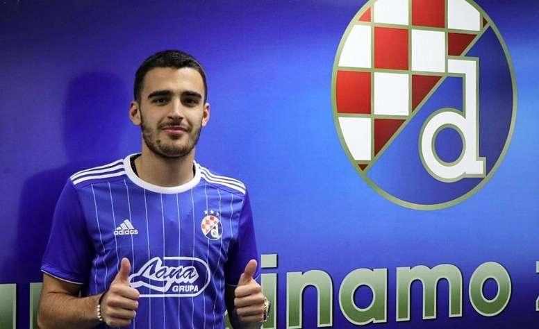 Kulenovic jugará en el Dinamo de Zagreb. GNKDinamo