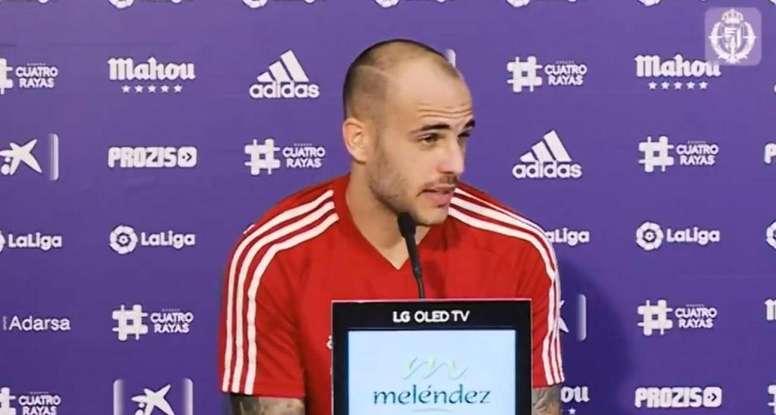 Sandro tiene hambre de gol.