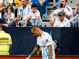 Sandro est l'un des possibles départs du club andalou. MalagaCF