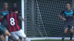 Milan y Fiorentina ganan; empata la Roma y pincha el United. Captura/MilanTV