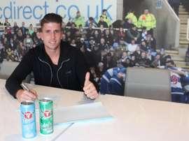 Wieser ha firmado con el Reading hasta 2019. ReadingFC