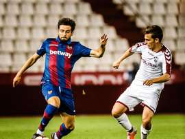 Prcic debutó con el Levante. Twitter/LevanteUD
