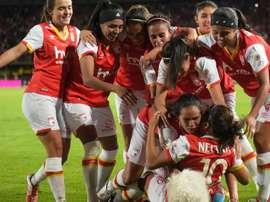 Independiente Santa Fe se proclamó campeón. SantaFe