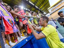 Santi Cazorla returned to former club Villarreal this summer. Twitter/VillarrealCF
