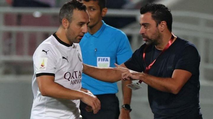 El Al-Sadd salió derrotado por 1-2 ante el Al-Nassr. AFP