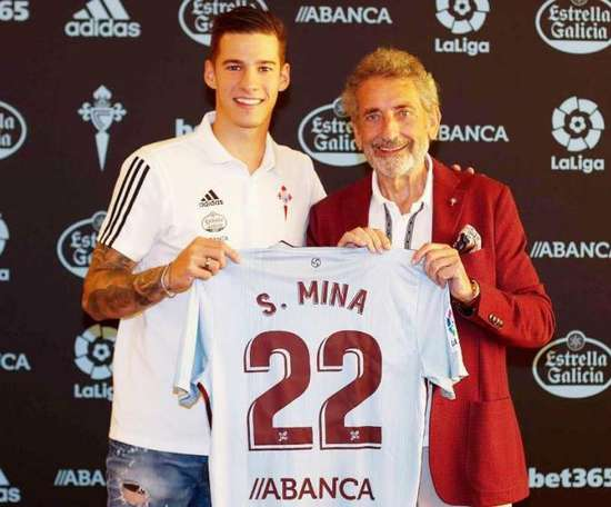 Santi Mina, de nouveau un joueur du Celta. RCCelta