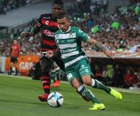Santos Laguna no levanta cabeza en el Clausura. ClubSantos