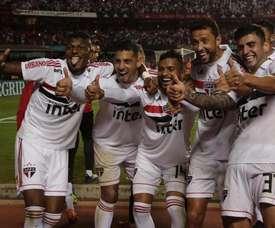 El Sao Paulo es nuevo líder en Brasil. Twitter/SaoPauloFC