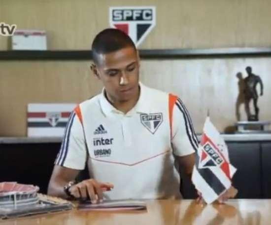Sao Paulo hizo oficial la renovación de uno de sus jugadores más importantes. Twitter/SaoPauloFC
