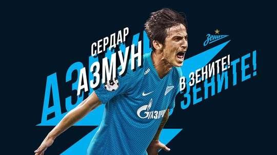 Azmoun é do Zenit. FCZenit