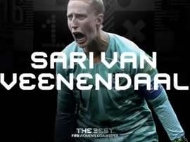 Sari van Veenendaal is the best in the world. Screenshot/FIFA