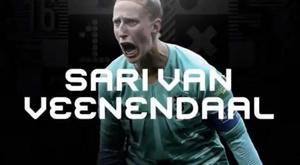 Van Veenendaal é a melhor do ano. Captura/FIFA