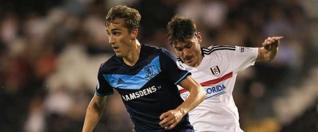 Julien de Sart se marcha cedido al Derby County. MiddlesbroughFC