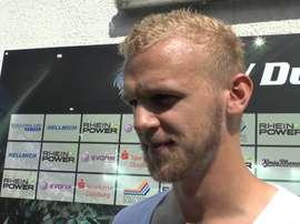 Sascha Dum, del MSV Duisburg, jugará en el Schalke 04. MSV-Duisburg