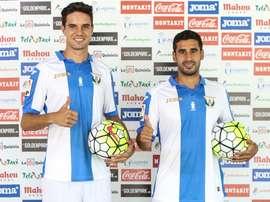 Sastre y Toni Arranz, presentados por el Leganés. DeportivoLeganés