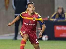 Saucedo debutó la pasada temporada en la MLS. Twitter