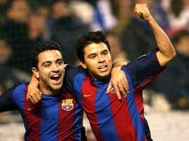 Saviola pasó dos temporadas sin mucho éxito en el Barcelona.