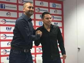 O argentino agora é treinador... Em Andorra. Twitter