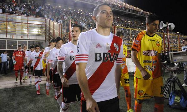 Saviola lideró la victoria de River Plate frente a Crucero del Norte. Twitter