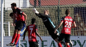 The BATE keeper was very critical of his team's performance. BATEBorisov