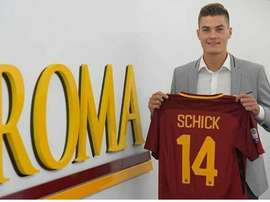 Schick joined Roma in the summer on an initial loan deal from Sampdoria. ASRoma