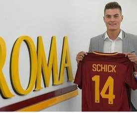 Schick é reforço da Roma. ASRoma