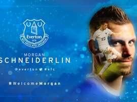 Schneiderlin, nouveau joueur d'Everton. Everton