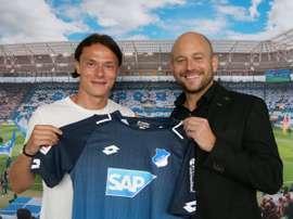 Schulz, nuevo jugador del Hoffenheim. TSG