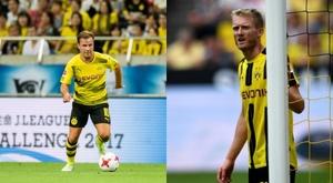 Ambos se encargaron de fabricar el segundo gol. AFP