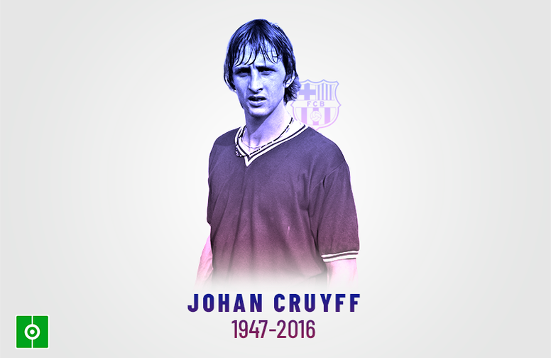 Johan Cruyff was all what Barcelona represents. BeSoccer