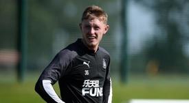 Newcastle refuse de vendre Longstaff à Manchester United. Twitter/NUFC