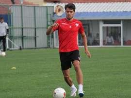 El centrocampista militó la pasada temporada en el fútbol turco. SebastiánHernández