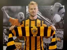 Larsson ya es 'tiger'. HullCity