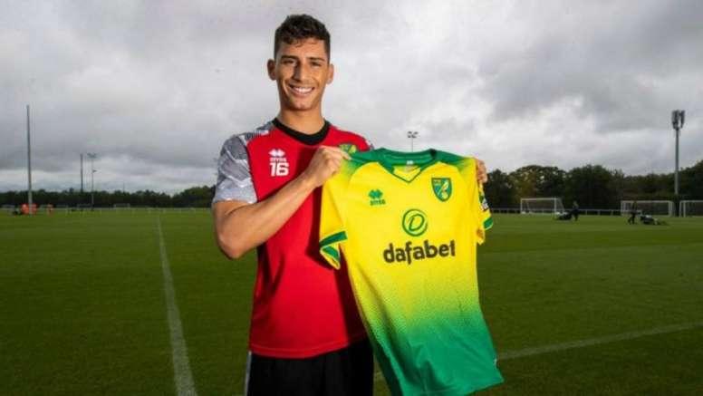 Soto se marcha a Holanda. Twitter/NorwichCityFC