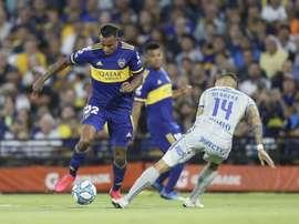 Boca acabó goleando a Godoy Cruz. Twitter/BocaJrsOficial