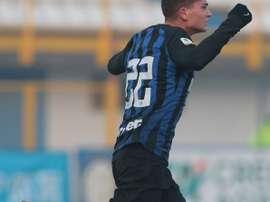 Tout le monde veut Sebastiano Esposito. AFP