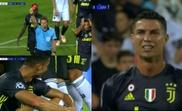 Ronaldo espulso contro il Valencia. AFP