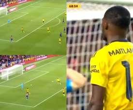 O gol contra bizarro que deu o empate ao Barcelona. BarçaTV