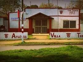 Sede del Club Atlético Villa Teresa. Twitter