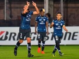 Segovia marcó el único tanto del partido. CONMEBOL