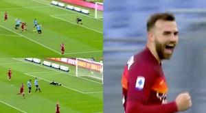 Mayoral scores brace against Spezia. Screenshots/MovistarLigadeCampeones
