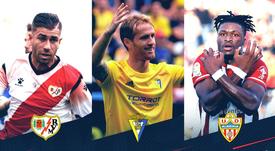 Embarba, Álex y Sekou, nominados a mejor jugador del mes. Captura/Twitter/LaLiga