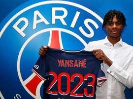 Yansané becomes Pochettino's first signing. PSG