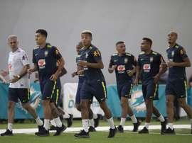 Seleção Brasileira inicia treinos para amistosos de setembro. CBF/Lucas Figueiredo