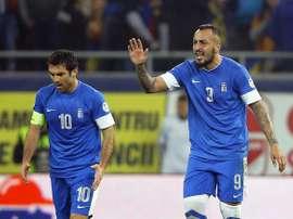 Grecia consiguió el triunfo en casa ante Chipre. EFE/Archivo