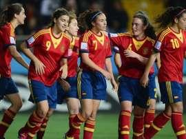 Selección femenina de España Sub 17