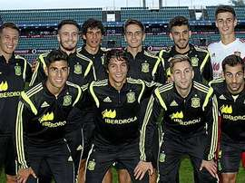 Selección Sub21. Twitter
