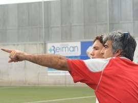 Selu, nuevo entrenador del CD Alcalá. CDAlcalá